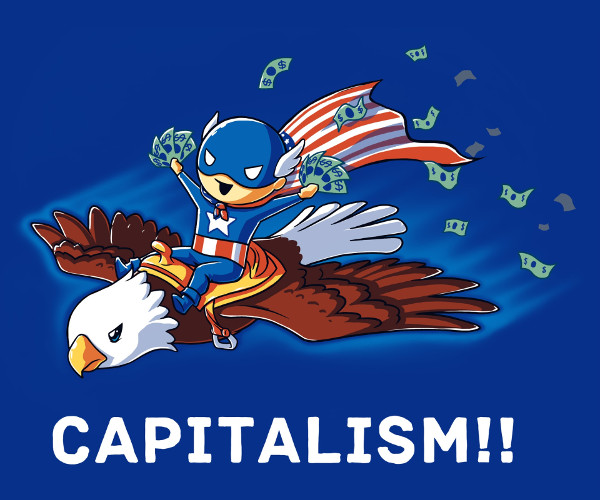 the capitalists of america State definitions of the terms robber baron and captain of industry  to be partner with capital, the man of affairs giving his business experience, the working .
