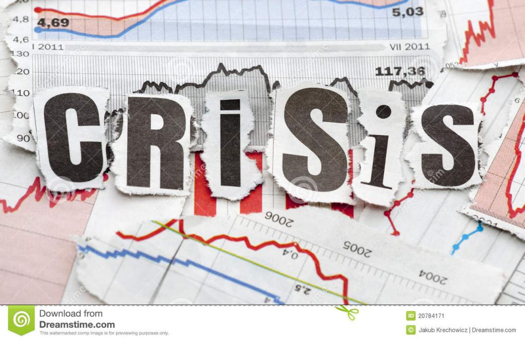 econimic crisis The financial crisis happened because banks were able to create too much money, too quickly, and used it to push up house prices and speculate on financial markets.