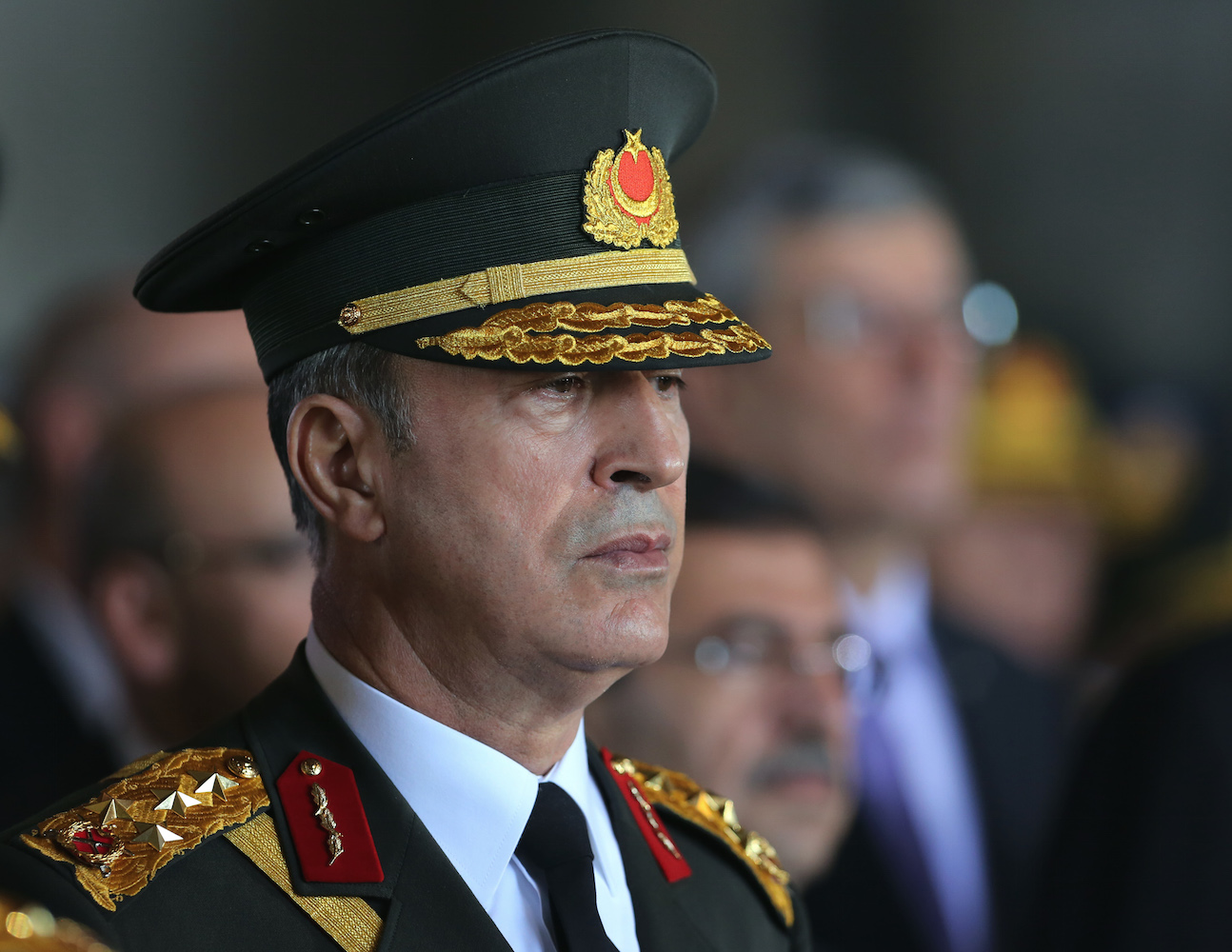 Turkish Chief of the General Staff arrives in Russia ...