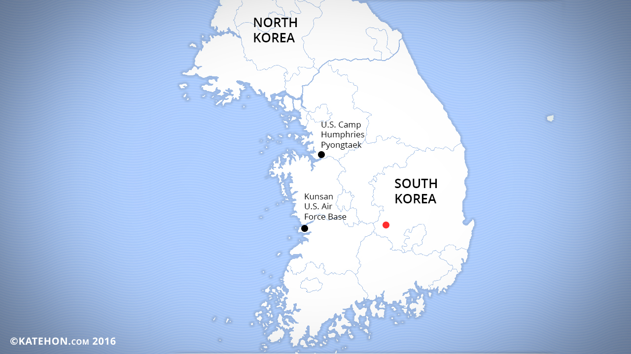 U S Thaad System In South Korea