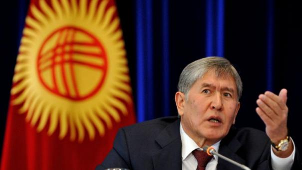 atambayev all foreign military bases must leave