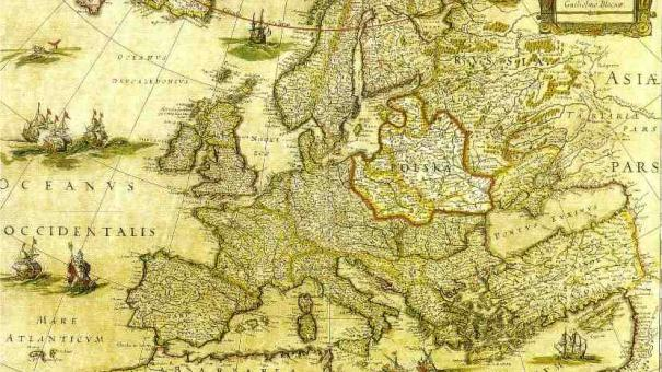 Politicalgeographical image of Eastern Europe and Orientalism – Geographical Map of Eastern Europe