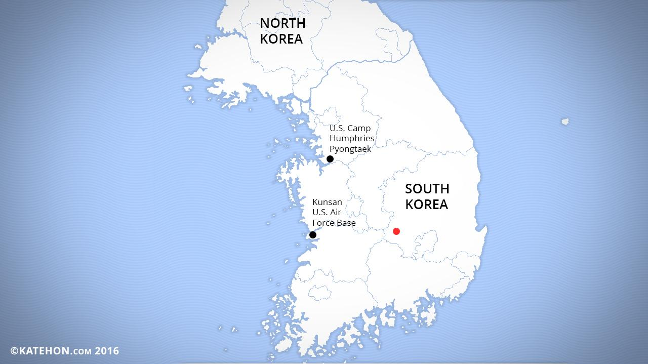 U.S. THAAD system in South Korea