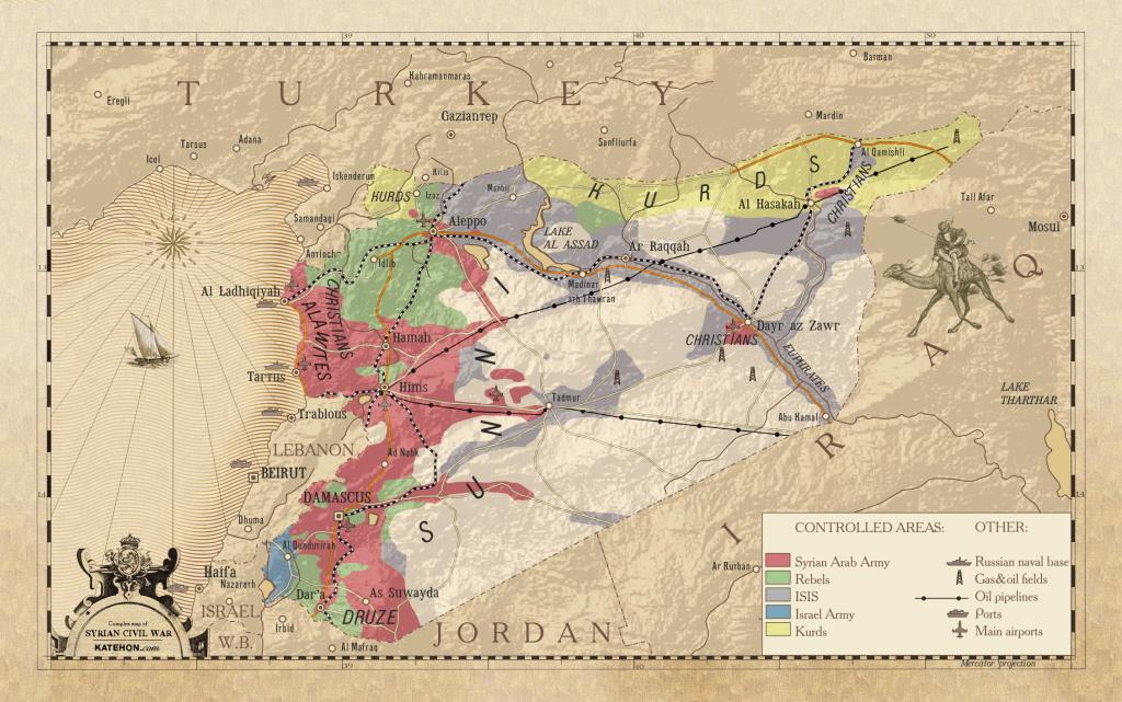 Turkey Crosses Into Syria Unipolar Conspiracy Or Multipolar - Where is syria and turkey